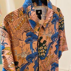 H&M Shirt Sleeve Shirt.